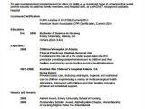 Resume Sample for Nurses Fresh Graduate 4 Sample Graduate Nurse Resumes Sample Templates