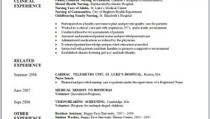 Resume Sample for Nurses Fresh Graduate Sample Nursing Resume New Graduate Nurse Nursing and