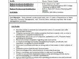Resume Samples for Experienced Marketing Professionals Resume format for Experienced Professionals Best Resume