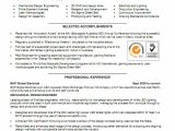 Resume Samples for Experienced Mechanical Engineers 7 Experienced Mechanical Engineer Resume Financial