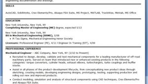 Resume Samples for Experienced Mechanical Engineers Mechanical Engineering Resume Sample Pdf Experienced