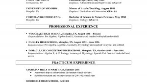 Resume Samples for Faculty Positions Sample Resume for Faculty Position Resume Ideas