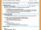 Resume Samples for Freshers Mechanical Engineers Free Download 7 Fresher Resumes Free Download Trinity Training