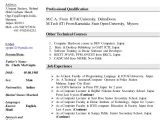 Resume Samples for Lecturer In Computer Science Resume for Computer Science Faculty