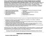 Resume Samples for Marketing Professionals top Marketing Resume Templates Samples