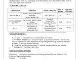 Resume Samples for Pharmacy Freshers B Pharmacy Resume Resume Ideas