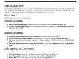 Resume Samples for Teaching Profession Resume for A Teacher Job Best Letter Sample