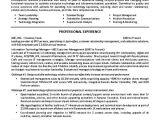 Resume Samples for Team Leader Position It Supervisor Resume Example