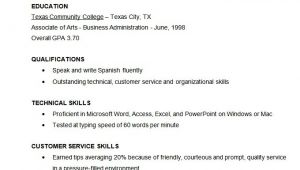 Resume Template Examples Free Microsoft Word Resume Template 49 Free Samples