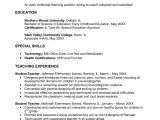Resume Template for Education Early Childhood Education Resume Samples Sample Resumes