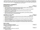 Resume Template for Education Education Resume Examples Project Scope Template