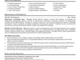 Resume Template for Project Manager Sample Resumes for Project Managers Sample Resumes