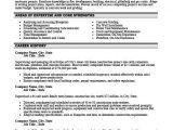 Resume Template for Supervisor Position Construction Site Supervisor Resume Template Premium