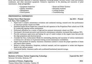Resume Template Military Experience Military to Civilian Resume Amplifiermountain org