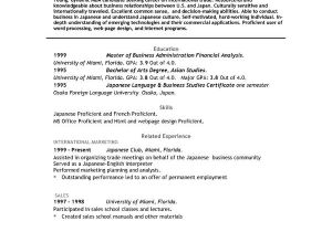Resume Templates Download Word Job Resume Templates Free Microsoft Word south Florida