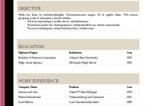 Resume Templates Download Word Resume Template Microsoft Word 2016 Best Professional