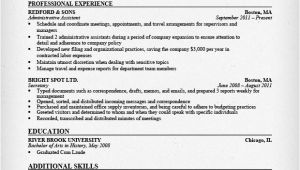 Resume Templates for Administrative assistants Administrative assistant Resume Sample Resume Genius