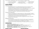 Resume Templates for Administrative assistants Professional Administrative assistant Resume Example