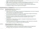Resume Templates for Administrative Positions Resume Administrative Position at A University Susan