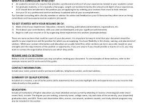 Resume Templates for Masters Program 9 Sample Graduate School Resumes Sample Templates