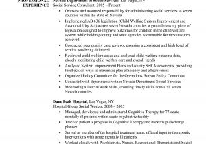 Resume Templates for social Workers social Work Resume Objective Statement