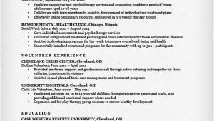 Resume Templates for social Workers social Work Resume Sample Writing Guide Resume Genius