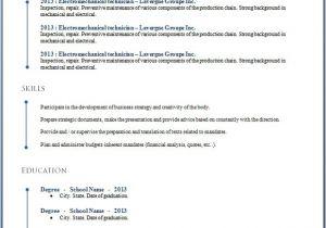 Resume Templates Word Download 50 Free Microsoft Word Resume Templates for Download