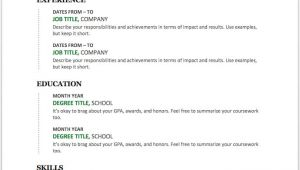 Resume Templates Word format Free Download 25 Free Resume Templates for Microsoft Word How to Make