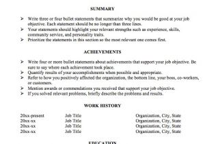 Resume with Achievements Sample Achievement Resume format for Really Big Resume Problems