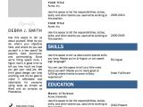 Resume with Photo In Word format Free Resume Templates for Word Http Webdesign14 Com