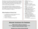 Resume Writing for Students Resume format Resume Writing for Students with Disabilities