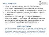 Resumen Personal Y Profesional Presentacion Hoja De Vida