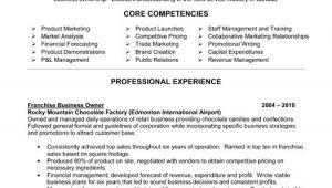 Retail Business Owner Resume Sample Business Owner Resume Ingyenoltoztetosjatekok Com