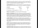 Retail Employment Contract Template Retailer Agreement Retail Purchase Agreement Template