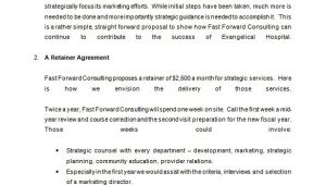 Retainer Proposal Template 15 Consulting Proposal Templates Doc Pdf Excel Free