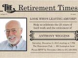 Retirement Flyer Template Powerpoint Retirement Flyer Template Free Printable Retirement