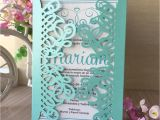 Retirement Party Invitation Card India 30pcs Laser Cut Prettytiffany Blue Color Thank You Rewards Gift Decoration Wedding Birthday Party Invitations Card Greeting Card