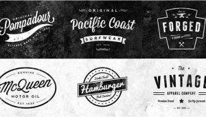 Retro Logo Template Psd 15 Free Vintage Logo Badge Template Collections