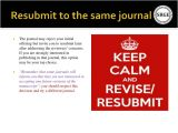 Revise and Resubmit Cover Letter Journal Resubmit Cover Letter Proofreadingwebsite Web