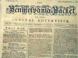 Revolutionary War Newspaper Template George Washington to Move to France after Revolutionary