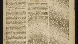 Revolutionary War Newspaper Template the American Revolution An Everyday Life Perspective