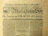 Revolutionary War Newspaper Template the British are Coming the Printer is Leaving the