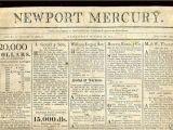 Revolutionary War Newspaper Template War 1812 My Voice is Still for War the Newport Mercury