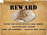 Reward Posters Template Four Free Wanted Poster Templates to Download for