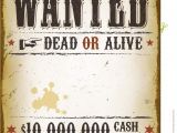 Reward Posters Template Wanted Vintage Western Poster Royalty Free Stock Photo