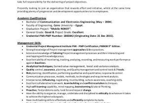 Rf Engineer Resume Pmp Rf Engineer Resume