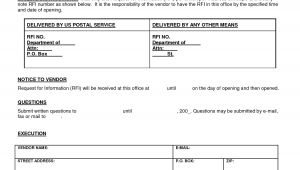 Rfi forms Template Request for Information Template Cyberuse