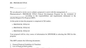 Rfp Email Template Common Rfp Template Sponsored by Poma