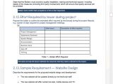 Rfp Requirements Template Request for Proposal Rfp Templates In Ms Word and Excel