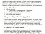 Rfp Response Email Template Sample Rfp Response Template 8 Free Documents In Pdf